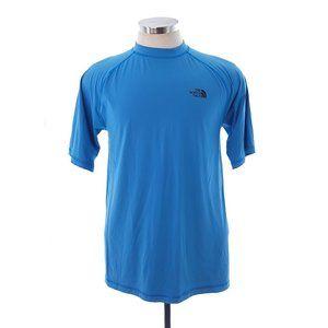 The North Face Mens Medium Blue Short Sleeve Shirt